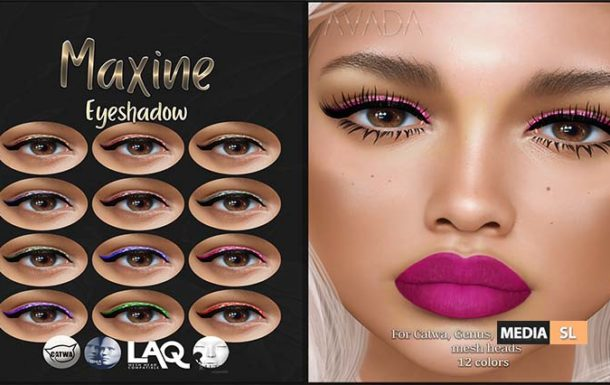 Maxine Eyeshadow @ The Makeover Room – NEW