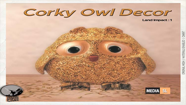 Corky Owl (Hunt prize)  – New Decor