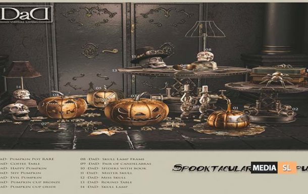 Spooktacular Steampunk Collection – Gacha