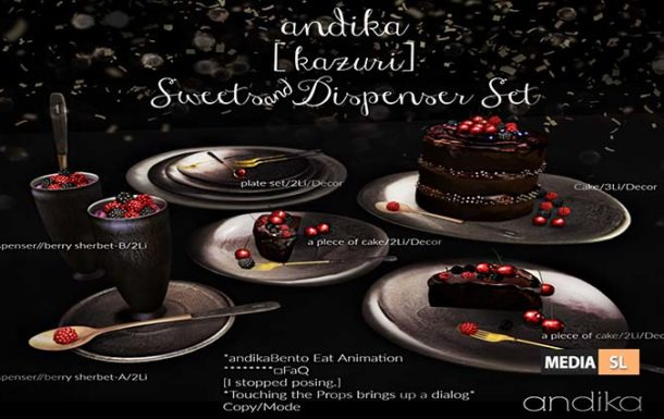 andika [ kazuri] Sweets & Dispenser Set – NEW