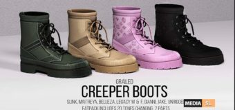 Unisex Creeper Boot – NEW