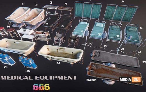 Medical Equipment – Gacha