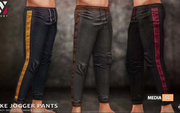 Luke Joggers Pants  – NEW Men