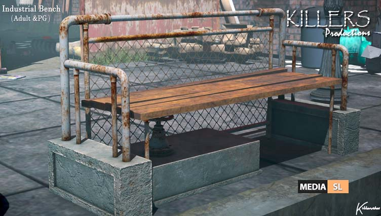 Industrial Bench – New Decor