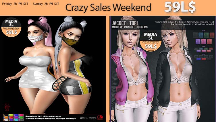 MEDIA SL SALE WEEKEND  NOVEMBER  29-01TH