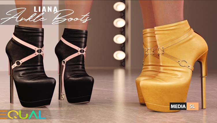 Liana Ankle Boots – NEW