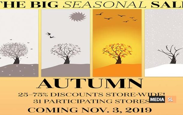 The Big Autumn Sale