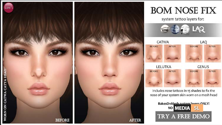 BOM Nose Fix – NEW