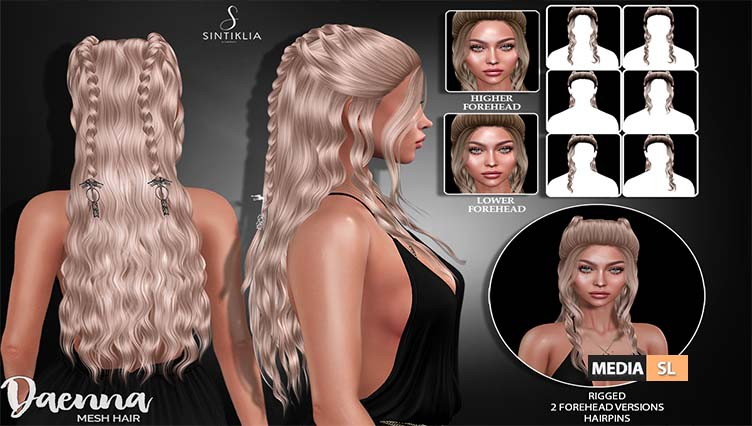 Hair Daenna on Collabor88 – NEW