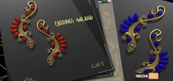 Romazin – Earrings – Gift