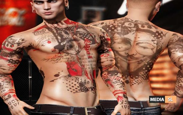 Hell Male TaTToo – NEW Men