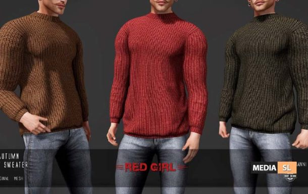Autumn Knit Sweater – NEW Men