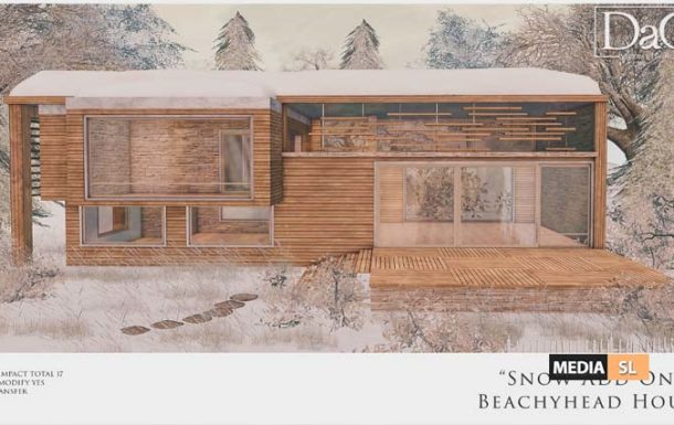 Snow Add-On for Beachyhead House – New Decor