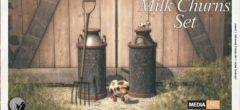 Milk Churns Set – Gift