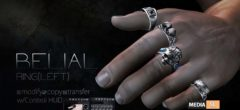 ROZOREGALIA BELIAL*RING(Left) Gianni&Jake – NEW Men