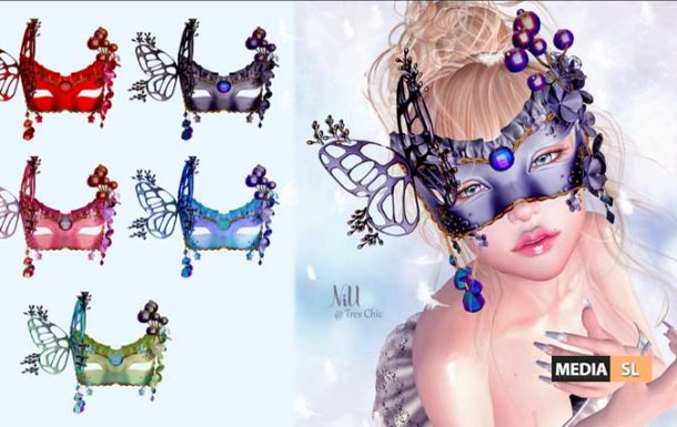 butterfly mask – NEW