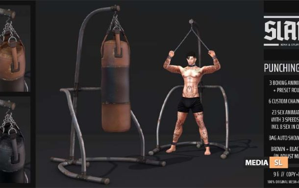 punching bag – NEW Men