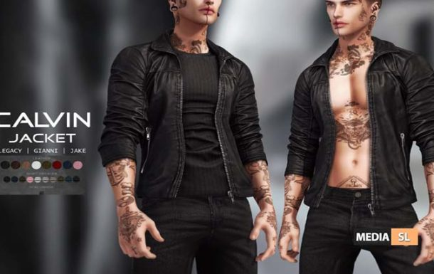 Calvin Jacket – NEW Men