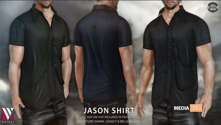 Jason Shirt – NEW Men