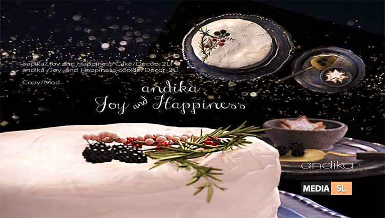 andika [Joy and Happiness cake set]. – New Decor