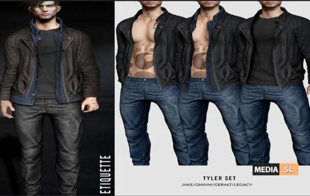 Tyler set – NEW Men