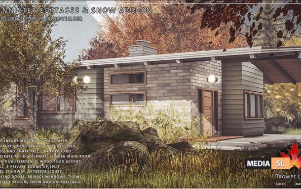 Finnister Cottages & Snow Add-On – New Decor