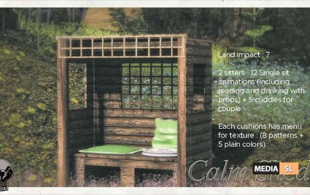 The Calm Shed – New Decor