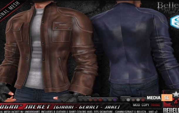 LOGAN JACKET – NEW Men