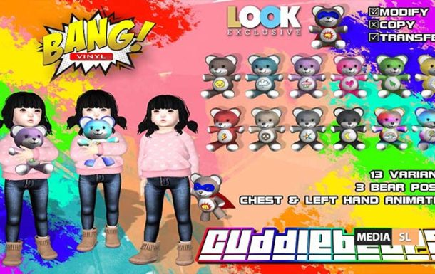 Cuddle bears – NEW