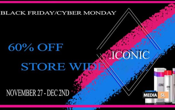 Black Friday/Cyber Monday – Sale