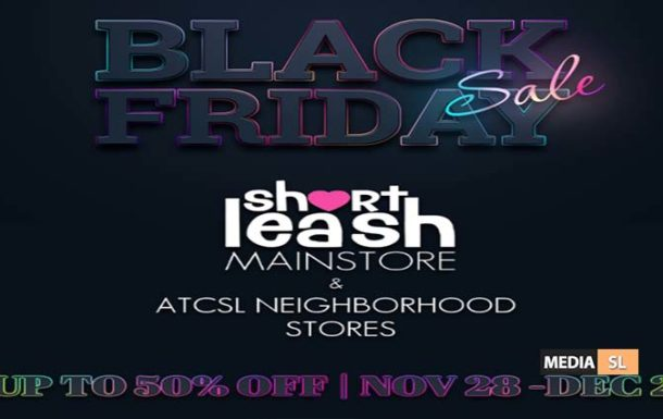 Black Friday Sale @ Short Leash & ATCSL Neighborhood Stores – Sale