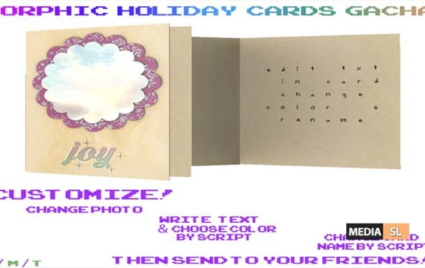 Orphic! Holiday cards – Gacha