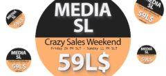 MEDIA SL CRAZY SALE WEEKEND  NOVEMBER  15-17TH