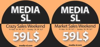 MEDIA SL SALE WEEKEND  NOVEMBER  22-24TH