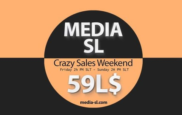 MEDIA SL CRAZY SALE WEEKEND DECEMBER 13-15TH