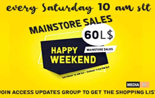 60L$ Happy Weekend March 14-15 – SALE