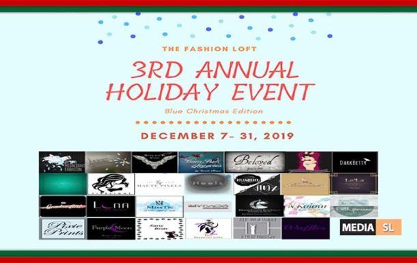 The Fashion Loft 3rd Annual Holiday Event – December 2019