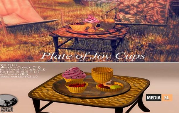 Plate of Joy cups – Gift