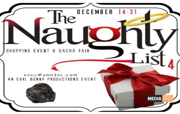 The Naughty List 4 Event – December 2019