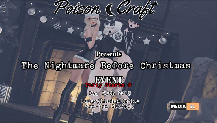 The Nightmare Before Christmas Event! – Club