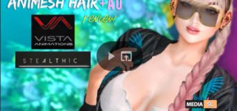 ANIMESH HAIR + AO – Vista Animations x Stealthic  GIVEAWAY Media SL – Video
