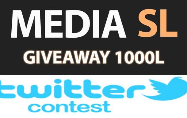 MEDIA SL twitter contest – Sale
