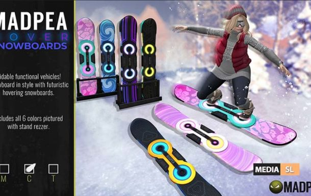 Hover Snowboard – News