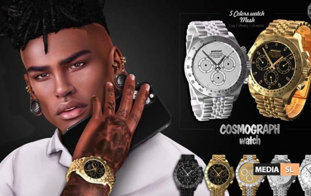 COSMOGRAPH – watch – News Men