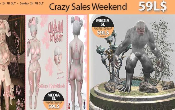 MEDIA SL CRAZY SALE WEEKEND DECEMBER 20-22TH