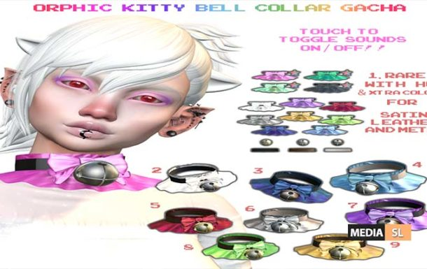 kitty bell collar – Gacha