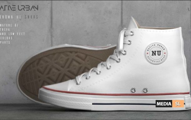Unknown Hi Sneakers – News Men