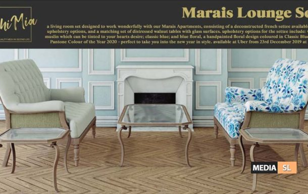 Marais Lounge Set – NEW DECOR