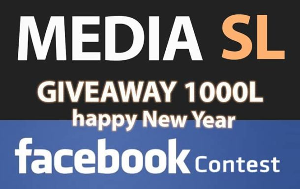 MEDIA SL facebook contest – Sale