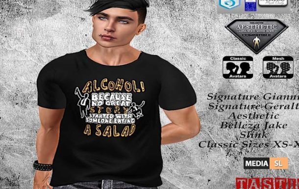 The Alcohol Shirt – News Men